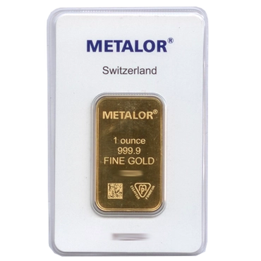 lingot or 1 once metalor