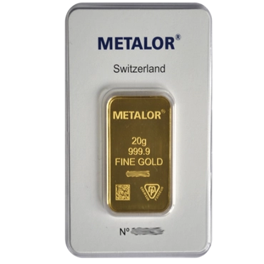 lingot or 20g metalor