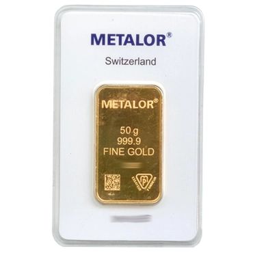 lingot or 50g metalor