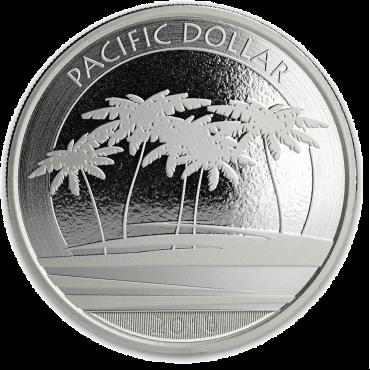 pacific dollar 2018 1oz revers